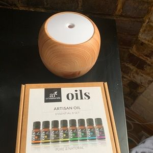 Essential oil diffuser and oils